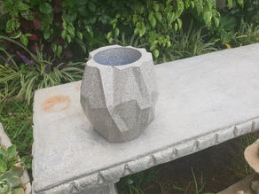 Geometric Polygonal Pot