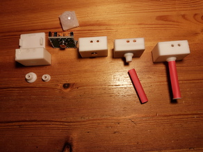 PIR Sensor Box for small detection angles
