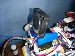Huxley NEMA14 fan mount for Sanguinololu cooling