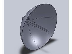 NodeMcu dish antenna