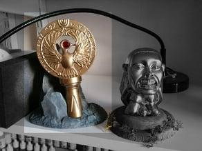 Indiana Jones Raiders of the lost ark - Head piece BASE