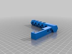 Sujeta rollo bobina parametrico customizable  para Prusa i3 RepRap / Parametric  Spool Holder  Customizer