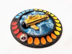 Deep Sea Adventure Board Game - Submarine Air Tracker