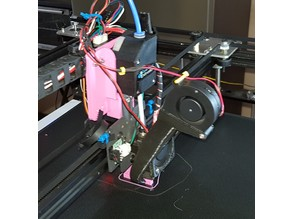 Tronxy X5SA BMG extruder to stock hot end direct drive mounting bracket