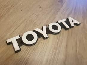 Toyota Heritage Badge