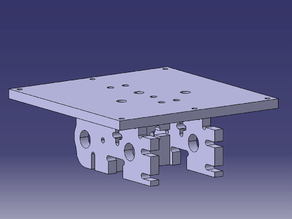 Routerized Cupcake CNC Y-Stage and Z Platform