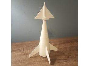 Von Braun Ferry Rocket