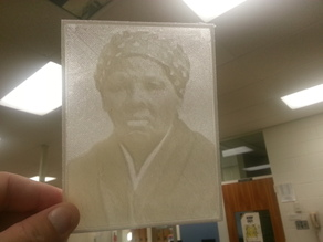 Harriet Tubman Lithopane
