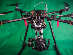 Hand held or Drone Mounted Gimbal for BlackMagic Micro Cinema or other Mid sized Camera