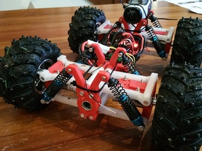 Off Road, 4wd (or 6wd) RC Car