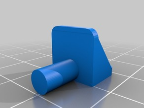 Shelf peg 4.88mm