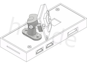 Ball and socket mount for Raspberry Pi camera and other applications