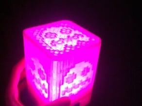 Pacman Cube Led Lamp - Lampada Pacman