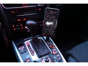 Audi A5 Phone Holder for S8+ with Wireless Quick Charging
