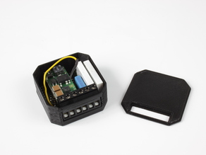 Housing for WIFI / Bluetooth Relaisboard for in-wall-socket; Arduino compatible