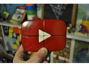 Youtube Play Button 2x2