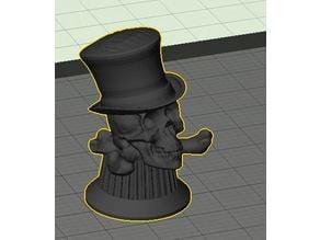 Mad Skull Hatter Guitar Knob - TT