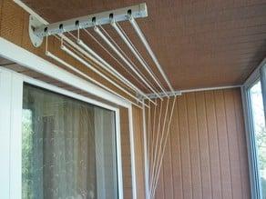 Сlip for ceiling clothes dryer/ ролик для потолочной сушилки
