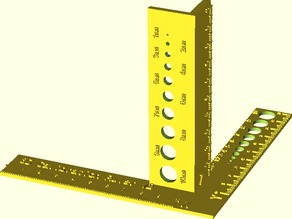 3D Calibration Ruler