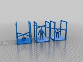 Cylon Original Model 3D Printed