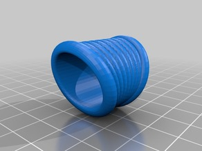 Anillo tubos circulares
