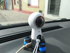 Samsung 360 (2017) dash cam vibration dampened