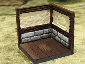 threednd tavern corner window