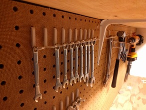 Pegboard hook system