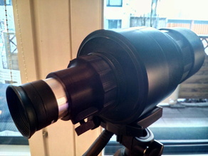 M42 camera lens eyepiece adapter to make telescope