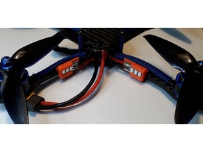LED mount for drone arm