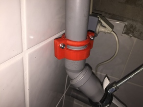 Sicherungsschelle für 40 mm HT-Rohr