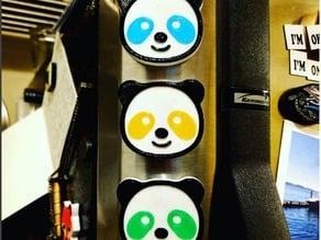 Panda (android) Emoji Magnet