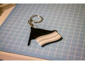 Mini Flag Keyring/Charm