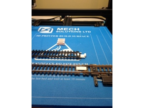 Ho Scale Track Clip Fastener