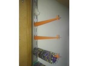 Track shelf hanger