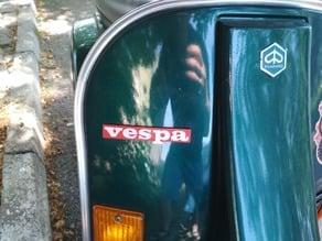 Vespa PK Badge legshield