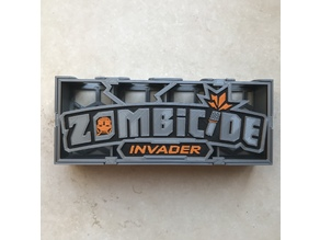 Zombicide Invader Card Tray