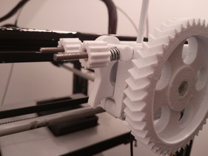 Geared Bowden Extruder for MK7 - V3