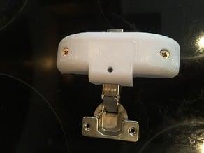 Kitchen door bracket