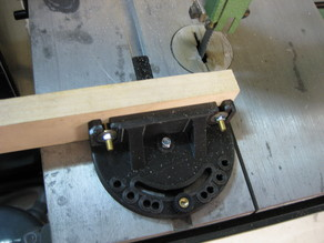 Miter gage for Inca 260 bandsaw