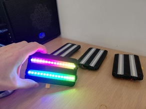 Support for 2 row of NeoPixel leds