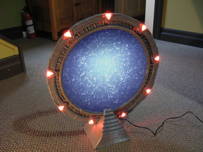 Working Stargate with Arduino Control