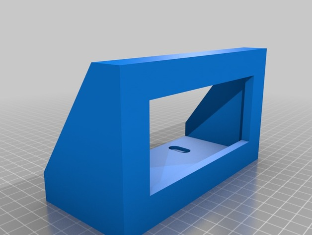 ULINE Safety Glass Wipe Box Mount by jbehrens - Thingiverse