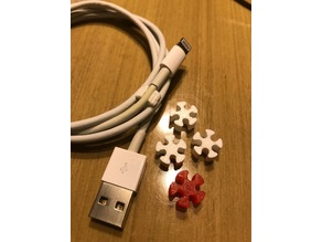 Snowflake USB Cable organizer