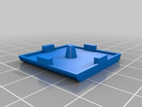 End Cap for 30x30 Extrusion Profile