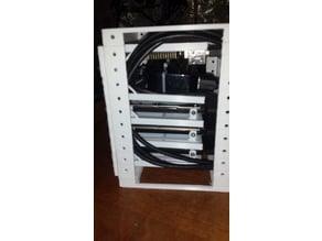 6 inch rack 2.5 hdd case