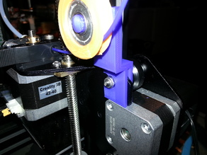 Snap on Ender 3 Stock Filament guide bearing