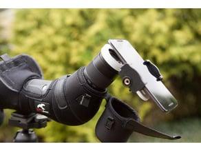 Spotting scope phone holder 55mm