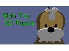 ABOW Shih Tzu 3d Dog Puzzle