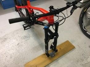MTB Gabelhalter/Fork Mount Transportsicherung Steckachse